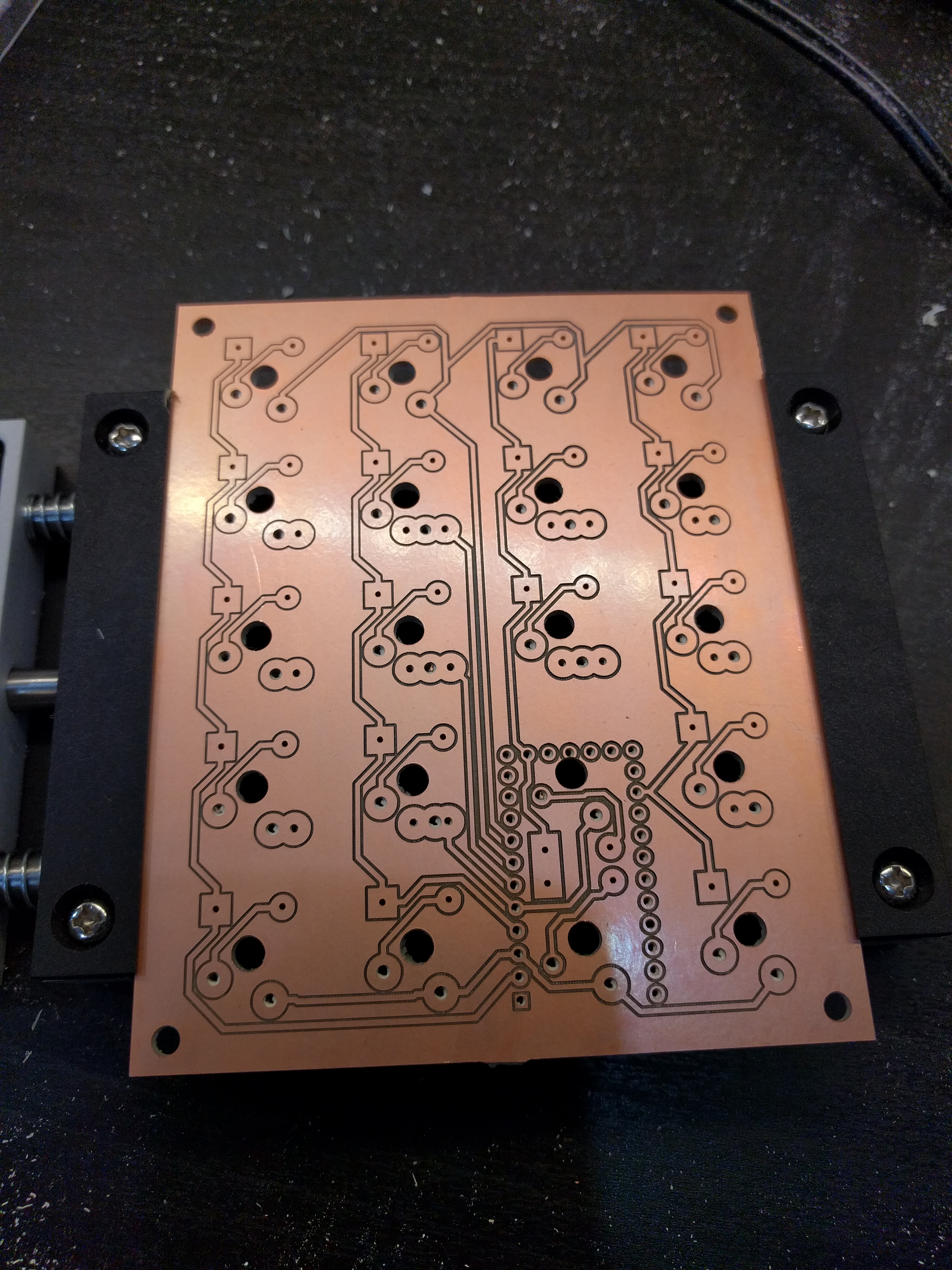 Milled PCB